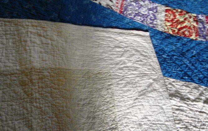 Victorian Durham quilt back