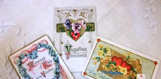 Cartoline antiche di San Valentino