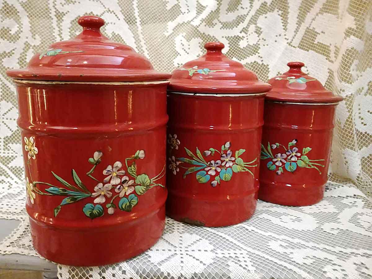 Antichi vasi francesi porta spezie