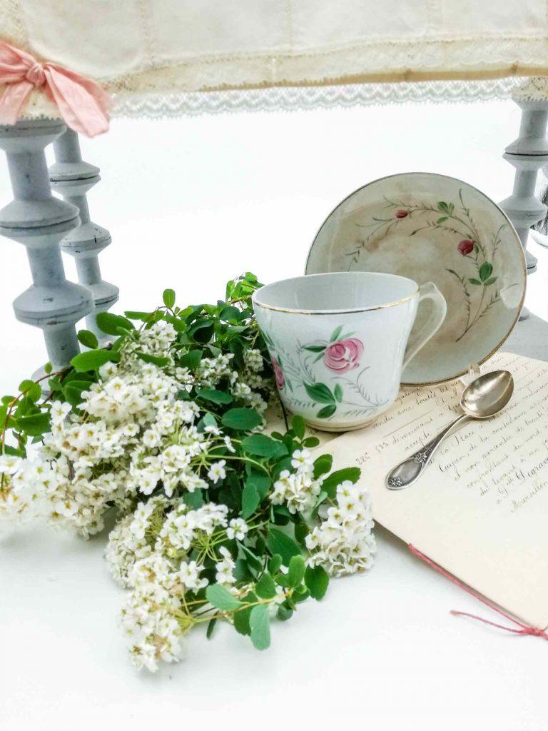 Tazza da caffe latte antica - Ceramiche francesi