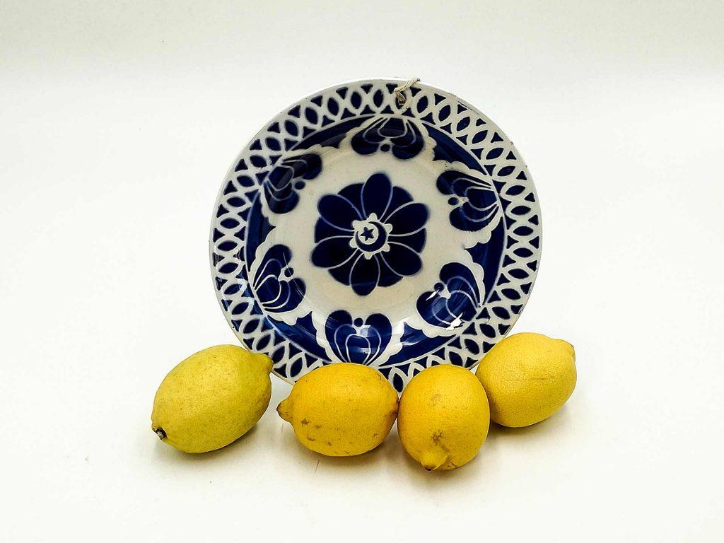 Piatto francese antico Digoin