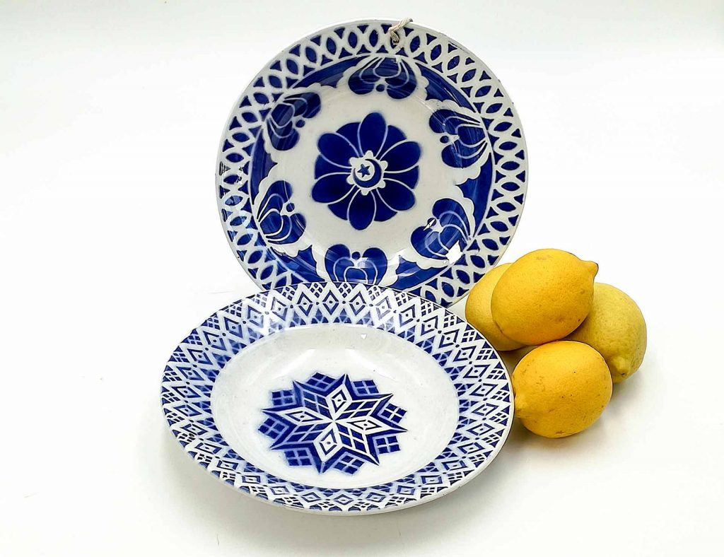 Piatti orientaliste Digoin Sarreguemines