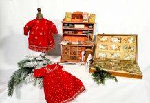 Giocattoli antichi decorazioni per Natale