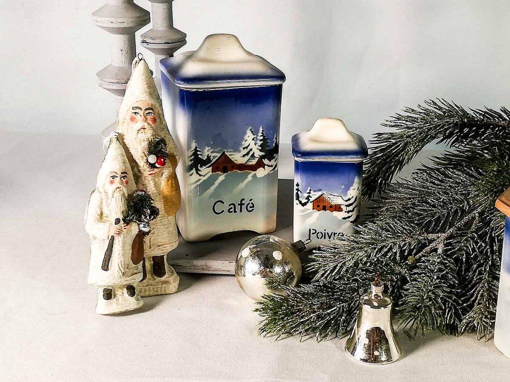Portaspezie di Natale antichi