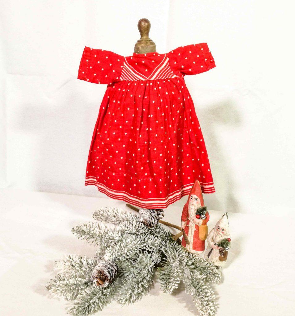 Vestitini per bambola antichi - Decorazioni natalizie