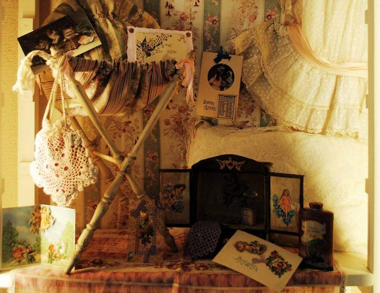 Collezione di cartoline antiche e cromo vittoriane