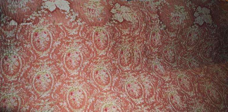 Durham quilt pink fabrics