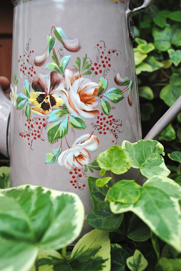 Pink coffee pot