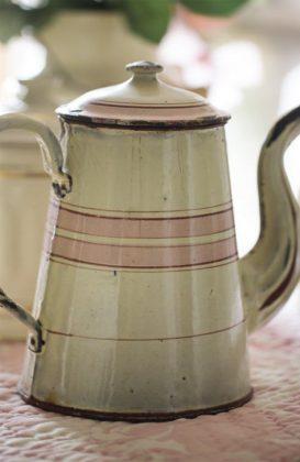 Smalto francese antico - Caffettiera
