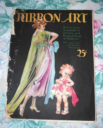 Ribbon art magazine 1923 cover
