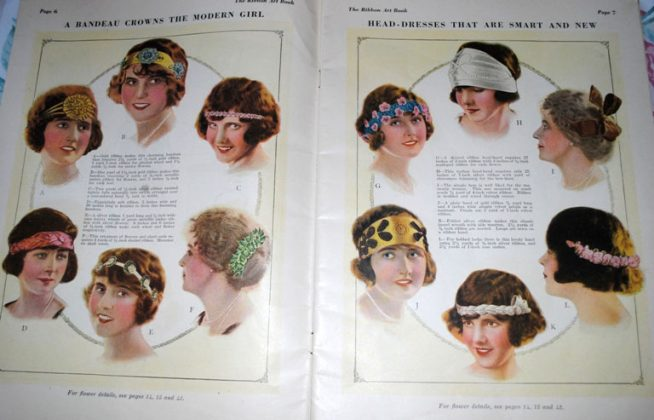 Ribbonart magazine flappers