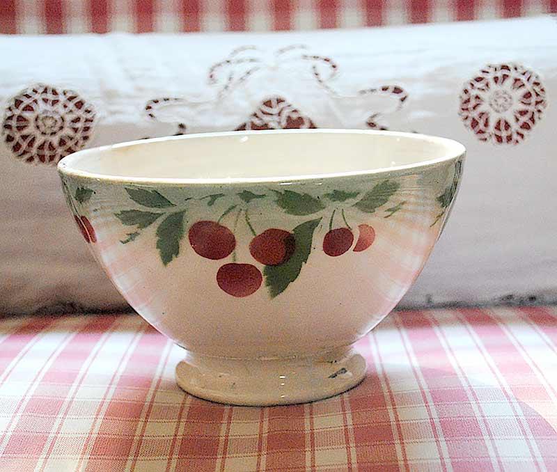 French bowl cherries