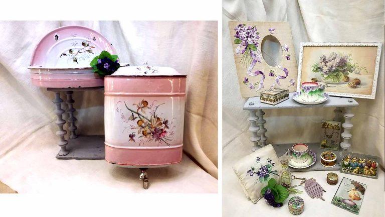 Primavera, violette e smalti francesi