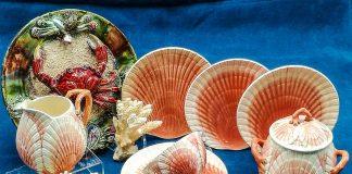 Barbotine antiche da collezione