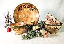 Ceramiche francesi natalizie antiche