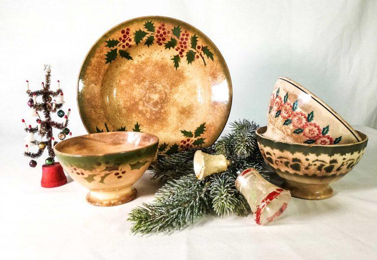 Natale con le antiche ceramiche francesi