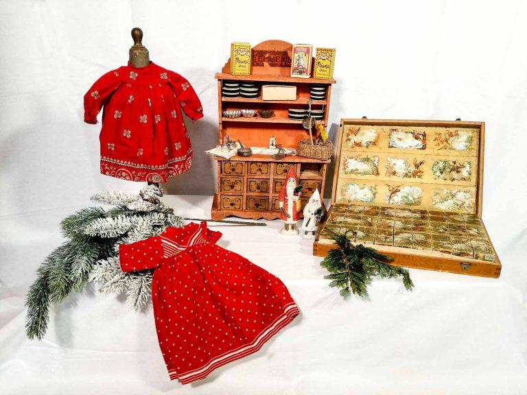 Giocattoli antichi per un Natale dal sapore Vittoriano