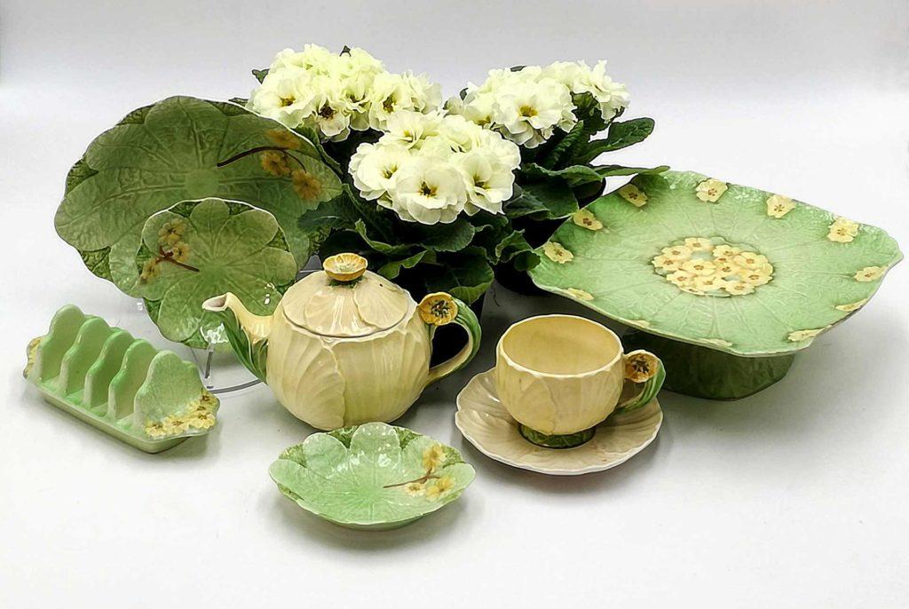 Ceramiche barbotine inglesi originali