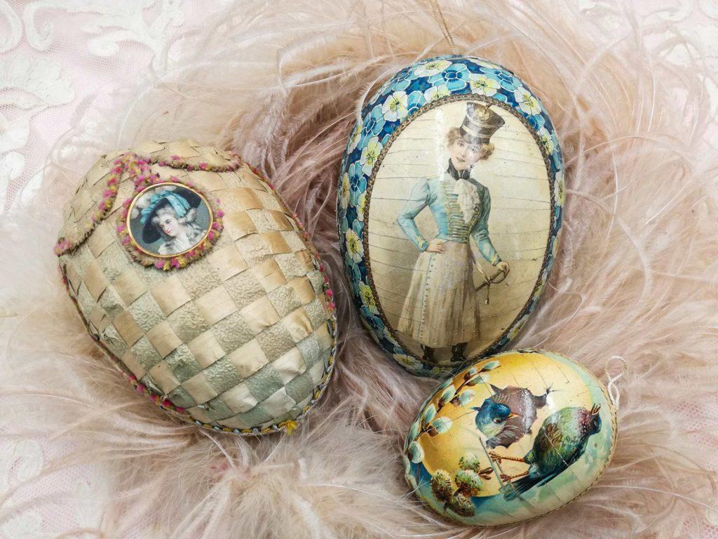 Uova di Pasqua di epoca vittoriana