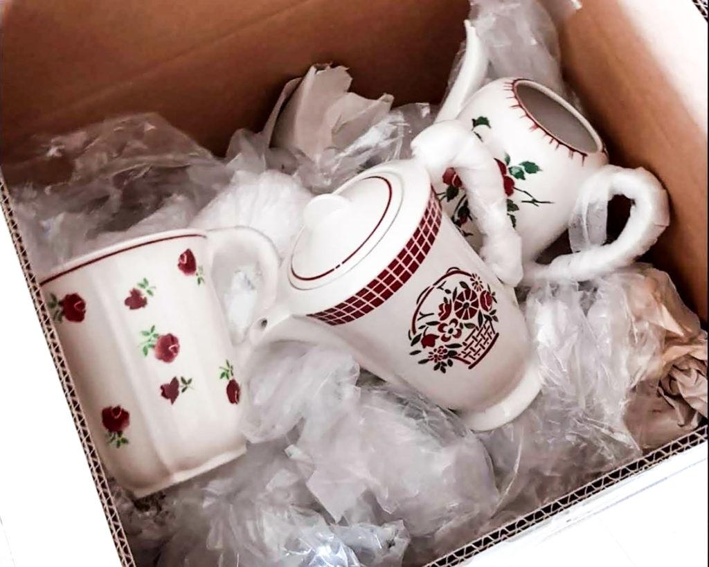 Ceramiche francesi in viaggio